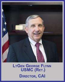 LtGen George Flynn, USMC (Ret.)</p>CAI Director</p>Member, Board of Regents